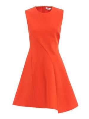 Victoria Beckham: short dresses - Asymmetric detail short dress