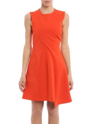 Victoria Beckham: short dresses online - Asymmetric detail short dress