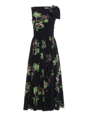 Vivetta: maxi dresses - Kajam patterned cotton dress