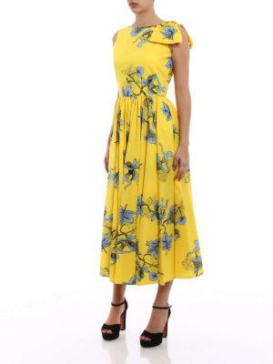 Vivetta: maxi dresses online - Kajam cotton dress