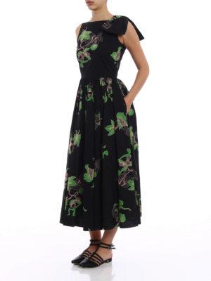Vivetta: maxi dresses online - Kajam patterned cotton dress