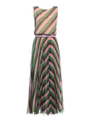 Vivetta: maxi dresses - Zibal striped dress