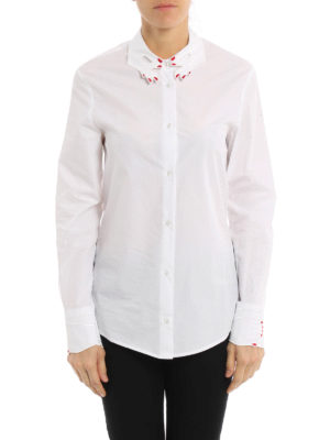 Vivetta: shirts online - Tortora cotton shirt