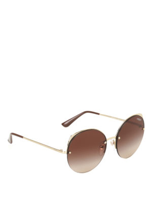 Vogue: sunglasses - Metallic Beat sunglasses