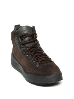 Woolrich: ankle boots online - Hiker brown suede ankle boots