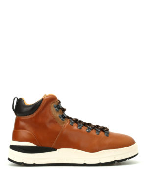 Woolrich: ankle boots - Quebec tan leather hiker boots