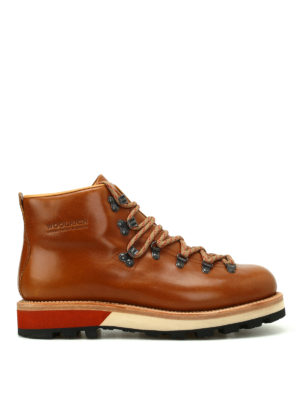 Woolrich: ankle boots - Smooth leather hiker boots
