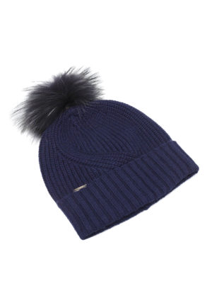 Woolrich: beanies - Knitted wool blend beanie