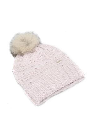 Woolrich: beanies - Serenity knitted wool beanie