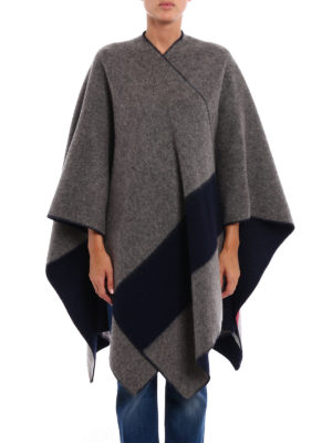 Woolrich: Capes &  Ponchos online - Wool blend reversible cape