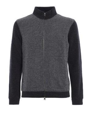 Woolrich: cardigans - Wool blend zipped cardigan