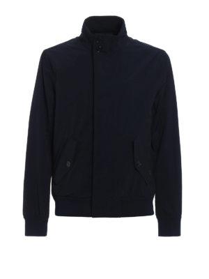 Woolrich: casual jackets - Club blue windbreaker