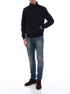 Woolrich: casual jackets online - Club blue windbreaker