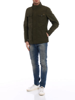 Woolrich: casual jackets online - Waxed cotton Military Field Jacket