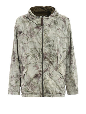 Woolrich: casual jackets - Reversible patterned windbreaker