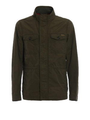 Woolrich: casual jackets - Waxed cotton Military Field Jacket