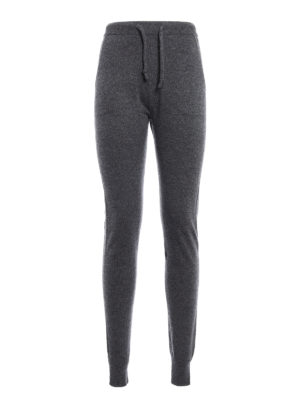 Woolrich: casual trousers - Knitted cashmere trousers