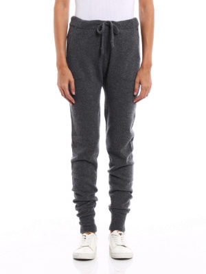 Woolrich: casual trousers online - Knitted cashmere trousers