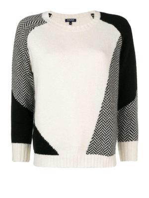 WOOLRICH: maglia collo rotondo - Girocollo in misto angora e cashmere