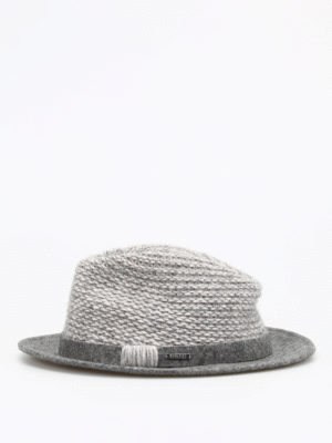 Woolrich: hats & caps online - Wool felt and knitted hat