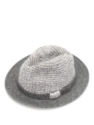 Woolrich: hats & caps - Wool felt and knitted hat
