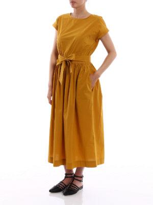 Woolrich: maxi dresses online - Poplin cotton midi dress