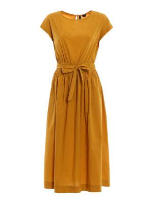 Woolrich: maxi dresses - Poplin cotton midi dress