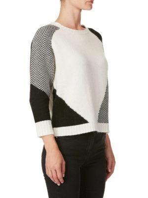 WOOLRICH: maglia collo rotondo online - Girocollo in misto angora e cashmere