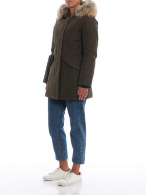WOOLRICH: cappotti imbottiti online - Piumino Arctic Parka verdone