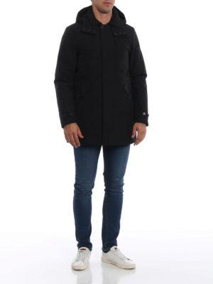 WOOLRICH: cappotti imbottiti online - Parka imbottito Paddock nero