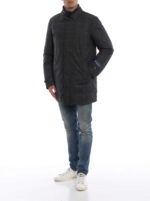 WOOLRICH: cappotti imbottiti online - Cappotto Chukker in Loro Piana Storm System®