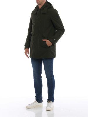 WOOLRICH: cappotti imbottiti online - Parka imbottito Paddock verde scuro