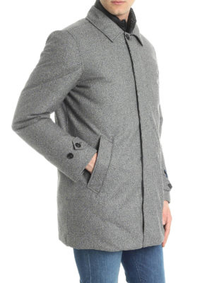 WOOLRICH: cappotti imbottiti online - Cappotto in lana imbottito