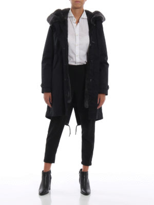 WOOLRICH: cappotti imbottiti online - Parka Literary Rex con imbottitura removibile