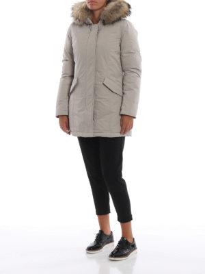 WOOLRICH: cappotti imbottiti online - Piumino Luxury Arctic beige
