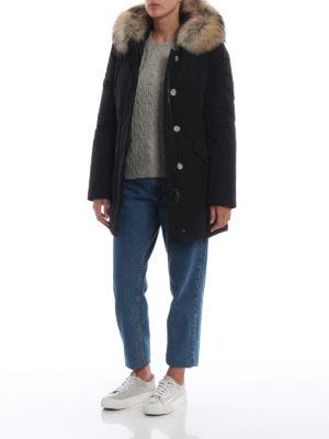 WOOLRICH: cappotti imbottiti online - Piumino Luxury Arctic nero