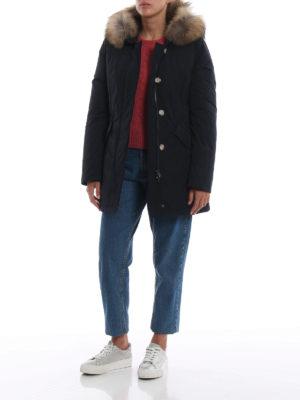 WOOLRICH: cappotti imbottiti online - Piumino Luxury Arctic blu