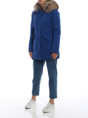 WOOLRICH: cappotti imbottiti online - Piumino Luxury Arctic blu cobalto