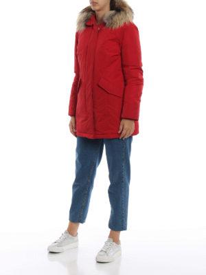 WOOLRICH: cappotti imbottiti online - Piumino Luxury Arctic rosso