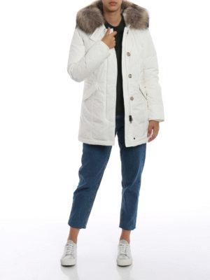 WOOLRICH: cappotti imbottiti online - Piumino Luxury Arctic bianco