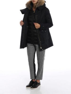WOOLRICH: cappotti imbottiti online - Scarlett Parka nero due in uno