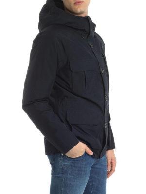 WOOLRICH: giacche imbottite online - Giacca imbottita in piuma con maxi tasche