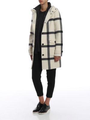 WOOLRICH: cappotti corti online - Cappotto Marcy con gilet imbottito