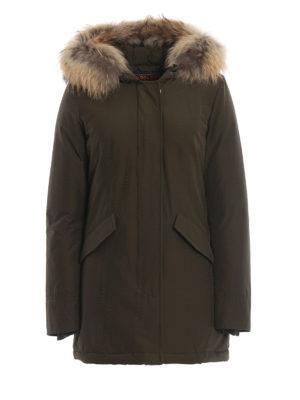 WOOLRICH: cappotti imbottiti - Piumino Arctic Parka verdone