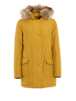 Woolrich: padded coats - Artic Parka fur trim padded coat