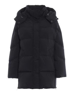 WOOLRICH: cappotti imbottiti - Piumino Aurora Puffy nero opaco