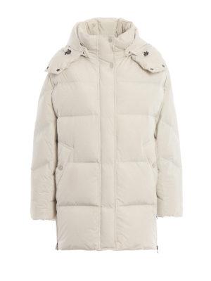 WOOLRICH: cappotti imbottiti - Piumino Aurora Puffy bianco opaco