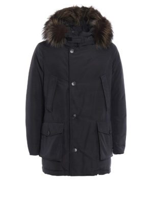 Woolrich: padded coats - Cotton and nylon Military parka