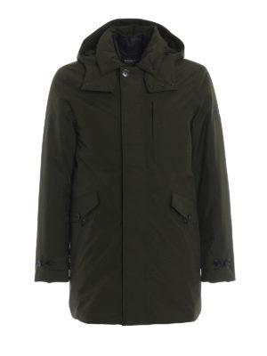 WOOLRICH: cappotti imbottiti - Parka imbottito Paddock verde scuro