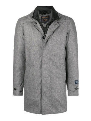 WOOLRICH: cappotti imbottiti - Cappotto in lana imbottito